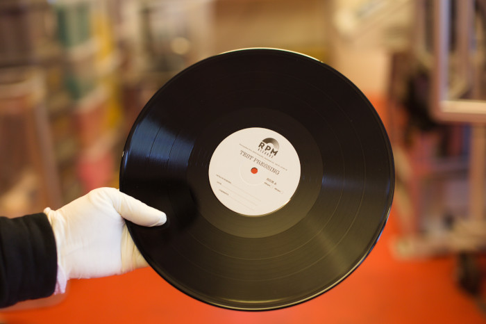 Test Pressings at RPM Records