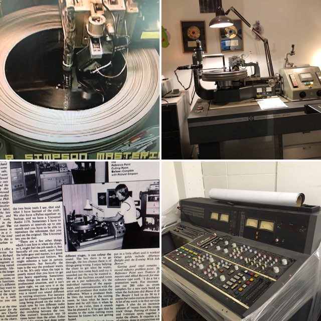 simpson studio 50 Years of Record Cutting and Stereo Bass for Vinyl
