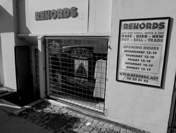 shopmonochrome Rekords - The Mecca of Underground Hip Hop in Copenhagen
